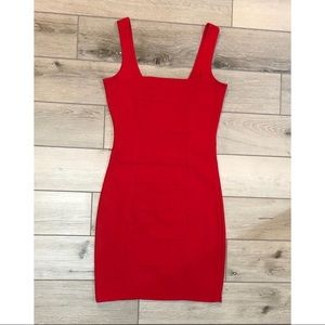 Charlotte Russe Red Bodycon Mini Dress. S